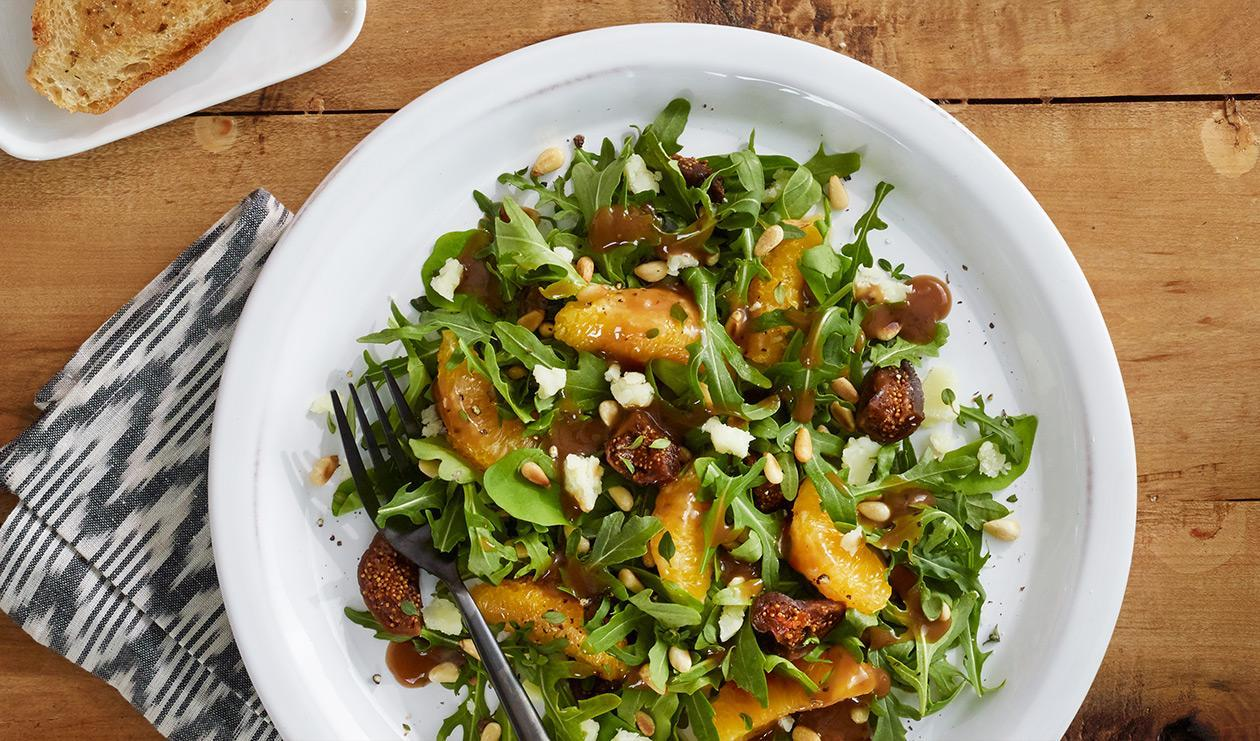 Sweet Fig and Manchego Salad  – recipe