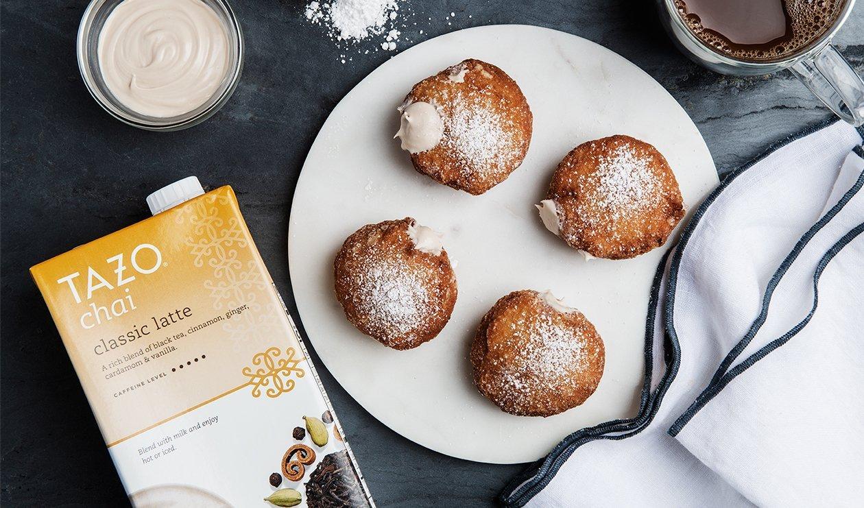 Tazo Chai Donuts – recipe