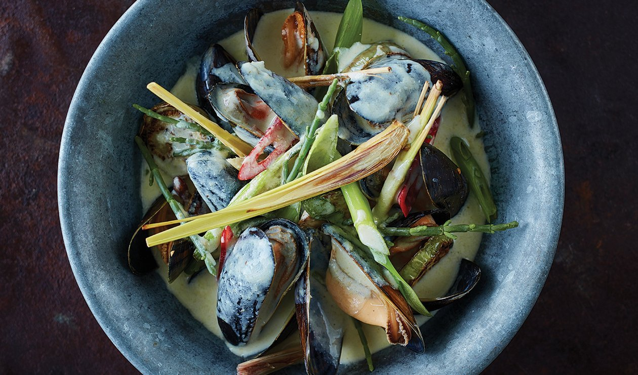Thai Green Curry with Seafood – recipe