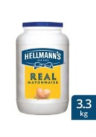 Hellmann's Real Mayonnaise (4 x 3.3Kg)