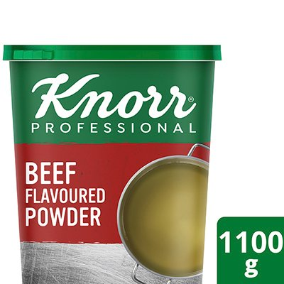 Knorr Beef Flavoured Stock Powder (6x1.1Kg) -
