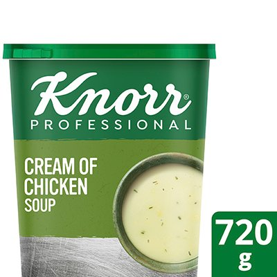 Knorr Cream of Chicken Soup Powder (6x720g)