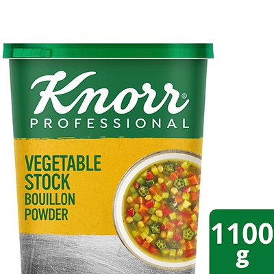 Knorr Vegetable Stock Bouillon Powder (6x1.1Kg)