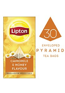 LIPTON Exclusive Selection Camomile & Honey Flavour Tea (6x25x0.9g) -