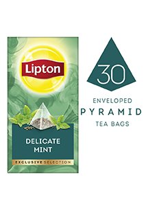 LIPTON Exclusive Selection Delicate Mint Tea (6x30x1.1g) -