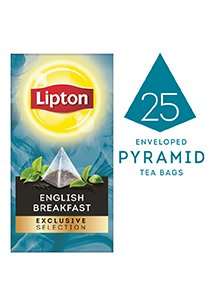 Lipton Exclusive Selection English Breakfast Tea (6x25x2.4g)  -