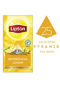 LIPTON Exclusive Selection Refreshing Lemon Tea (6x25x1.7g) -