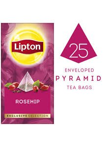 Lipton Exclusive Selection Rosehip Tea (6X25X0.9G) -