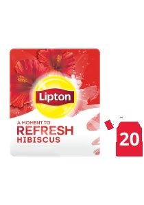 Lipton Hibiscus Herbal Tea (16x20 envelopes) -