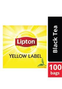 LIPTON Yellow Label Black Tea (24x100x2g)