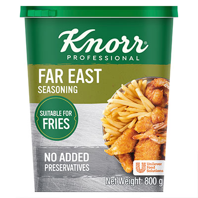 Knorr Far East Seasoning (6x800g) - Knorr Seasoning Range is made of natural spices, herbs and vegetables