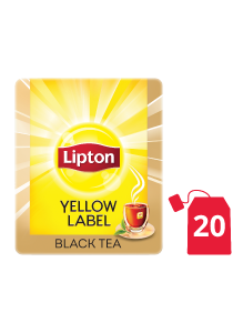 Lipton Yellow Label Black (16x20 teabags) - Lipton knows how to create that