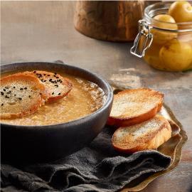 Smoked Lentil Soup