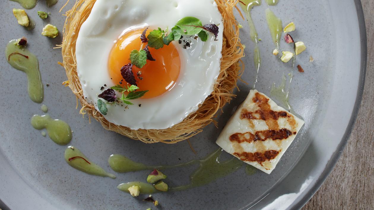 Balaleet (Sweet Vermicelli and Egg)