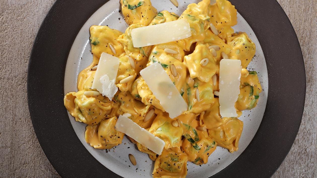Butternut Squash and Spinach Tortellini