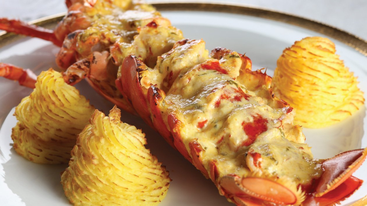 Christmas Lobster Thermidor