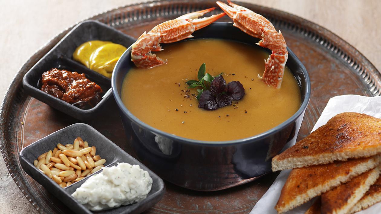 Gabgooba Maafroud (Emirati Crab stew)