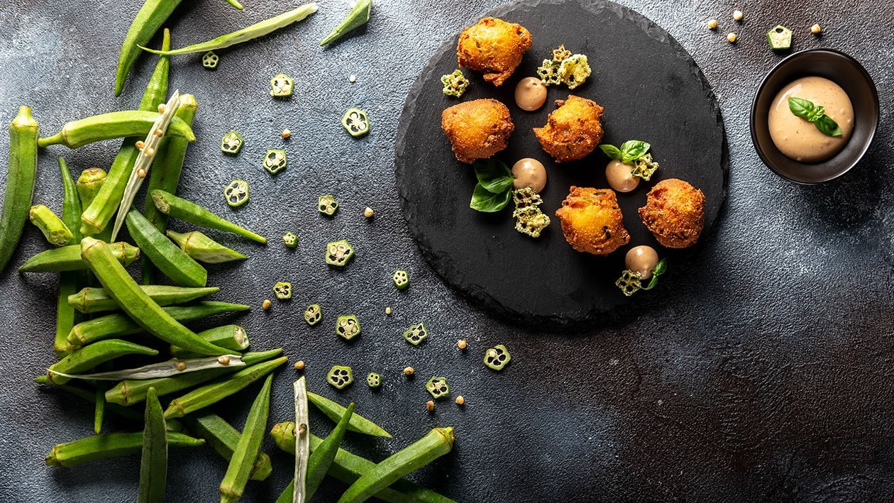 Okra Hush Puppies