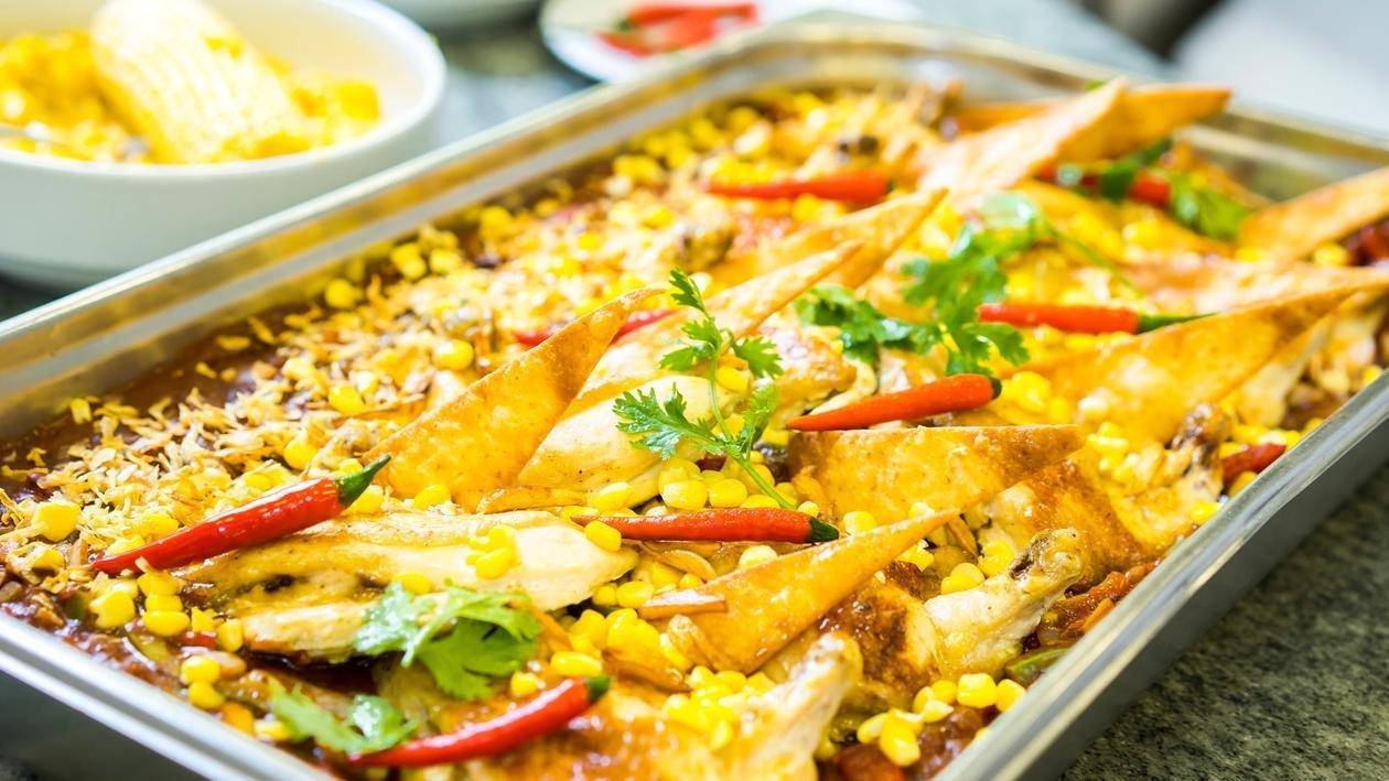 Spicy Boneless Chicken & Corn