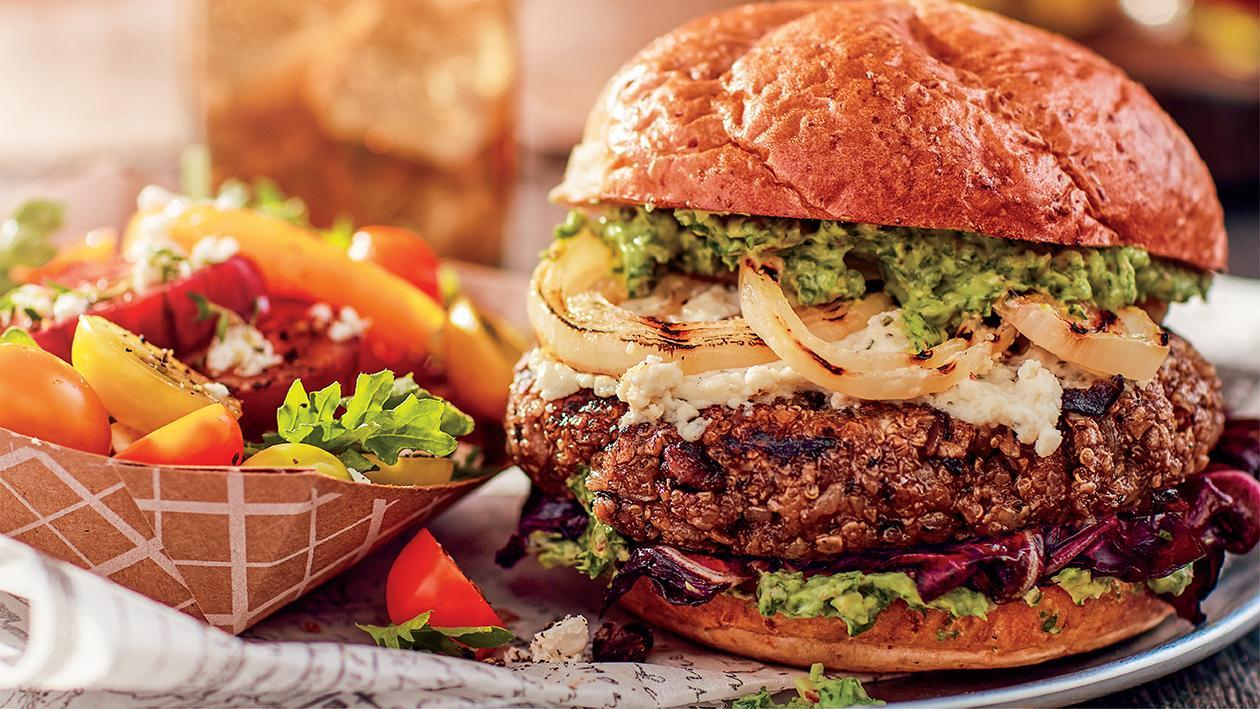 Zesty Black Bean Burger