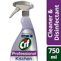 Cif Pro Formula 2in1 Kitchen Cleaner Disinfectant Spray 750ml