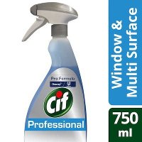 Cif Pro Formula Window & Multi Surface Cleaner Spray 750ml