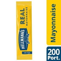 Hellmann's Real Mayonnaise 200 x 15ml Portions