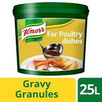 Knorr Gluten Free Gravy Granules for Poultry Dishes 25L