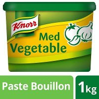 KNORR Gluten Free Mediterranean Vegetable Paste Bouillon 1kg