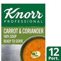 Knorr Professional 100% Soup Carrot & Coriander 12 Port