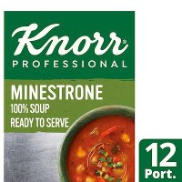 Knorr Professional 100% Soup Minestrone 12 Port
