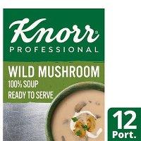 Knorr Professional 100% Soup Wild Mushroom 12 Port