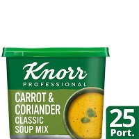 Knorr Professional Classic Carrot & Coriander Soup 25 Port