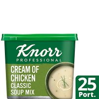 Knorr Professional Classic Cream of Chicken Soup 25 Port