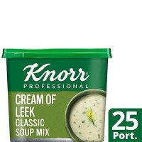 Knorr Professional Classic Cream of Leek Soup 25 Port
