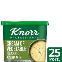Knorr Professional Classic Cream of Veg Soup 25 Port
