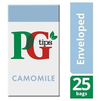 PG tips Camomile Tea 25 Enveloped Bags