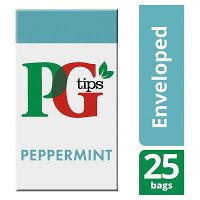 PG tips Peppermint Tea 25 Enveloped Bags