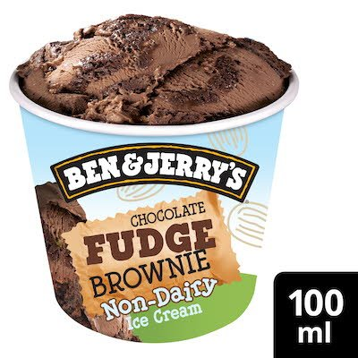 Ben & Jerry's Non-Diary Chocolate Fudge Brownie 100ml -