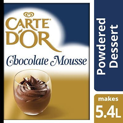 Carte D'Or Chocolate Mousse 3 x 240g (720g)