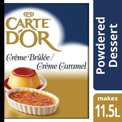 Carte D'Or Crème Brûlée / Crème Caramel 1.25kg -
