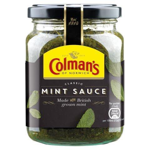 COLMAN'S Classic Mint sauce 6x250ml