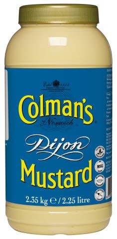 COLMAN'S Dijon Mustard 2.3kg (2.25L)