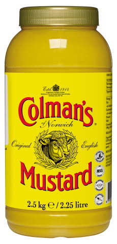 COLMAN'S English Mustard 2.5kg (2.25L)