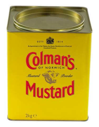 Colman's English Mustard Powder 2kg  -