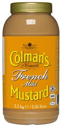 Colman's French Mustard 2.25L