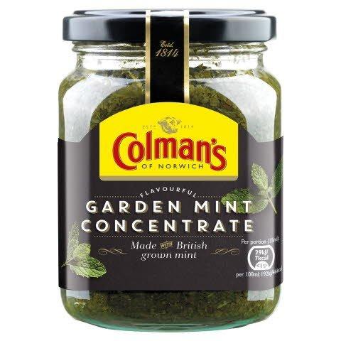 COLMAN'S Fresh Garden Mint Sauce Concentrate 6x250 ml