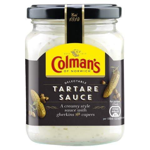 COLMAN'S Tartare Sauce 6 x 250ml