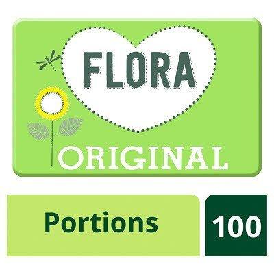Flora Original 100x10g Portions -
