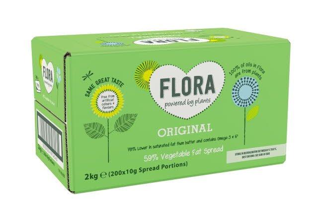 Flora Original 200 x10g Portions
